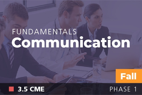 Fundamentals of Physician Leadership: Communication at AAPL Fall Institute 2018