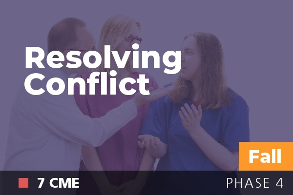Resolving Conflict at AAPL Fall Institute 2018
