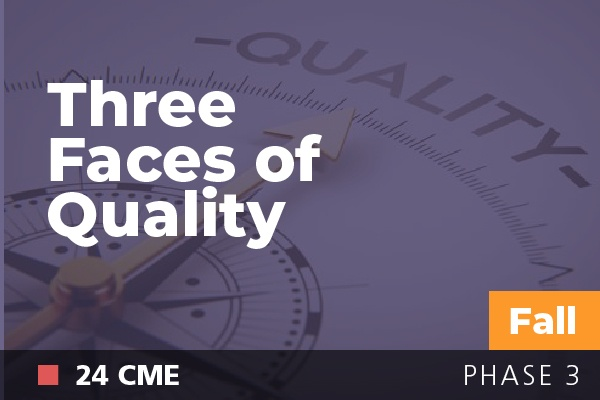 Three Faces of Quality at AAPL Fall Institute 2018