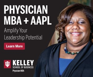 Physician MBA + AAPL: Amplify Your Leadership Potential. Click to learn more.