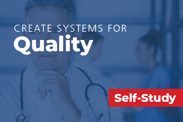 Create Systems for Quality